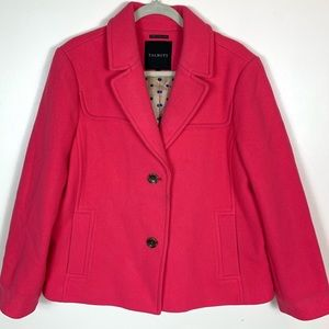 Talbots | Wool Pea Coat Pink Size 16